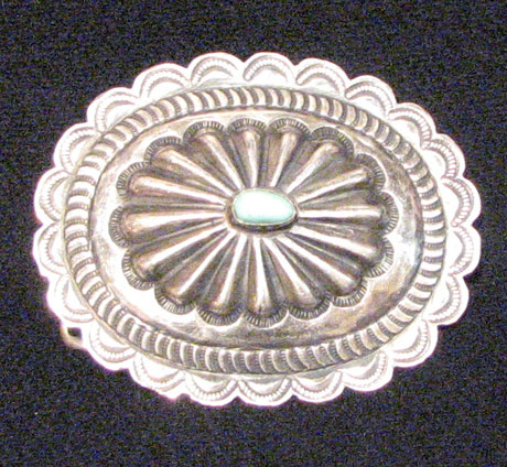 Navajo Belt Buckle