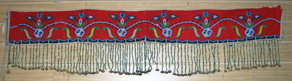 1880's - 1890's Beaded Martingale