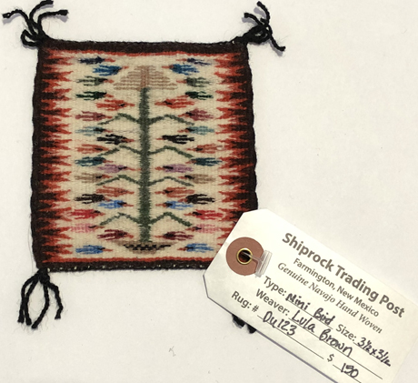 Miniature Weaving