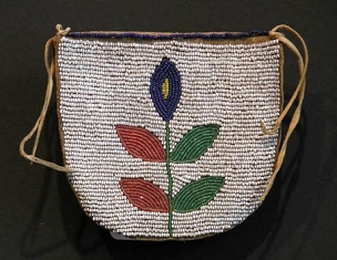 Plateau Beaded Belt Pouch