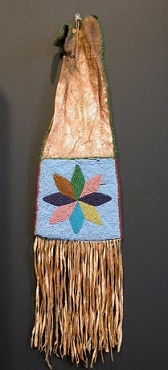 Blackfeet Tobacco Bag Circa 1870