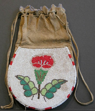 Cree Tobacco Bag Circa 1900