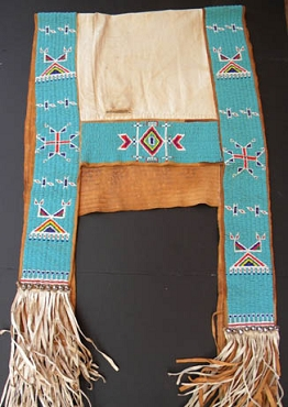 Beaded Sioux Saddle