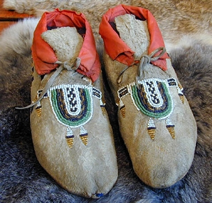 Blackfeet Men's Moccasins