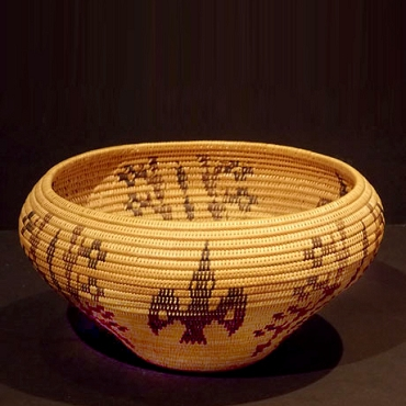 Washoe Polychrome Basket