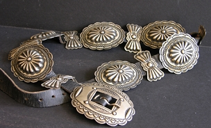 Woman's Concho Belt