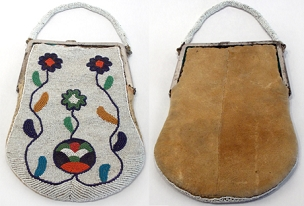 Plateau/Nez Perce Purse Circa 1900 - 1925
