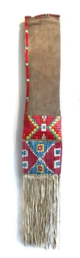 Mandan/Hidatsa Quilled Pipe Bag - Early 20th Century
