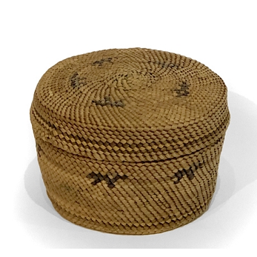 Early 20th Century Makah Basket
