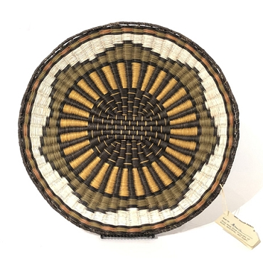 Wicker Plaque
