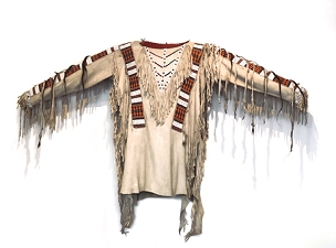 Sioux War Shirt Circa 1890.