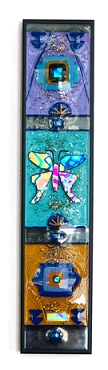 Glass Butterfly Panel